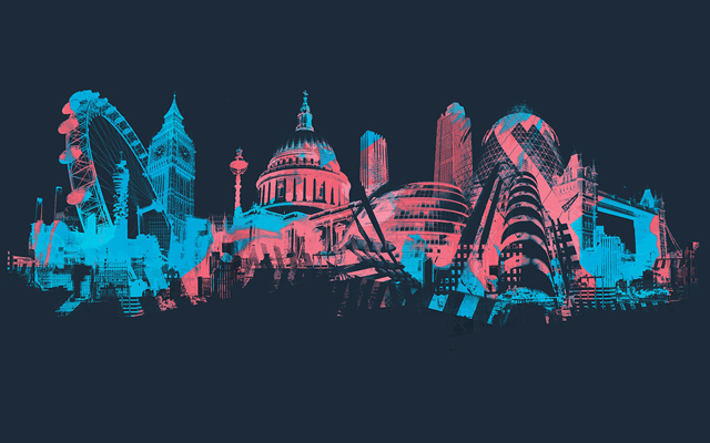 Tags: Andy Potts, Architecture, Buildings, Illustration, London, Skyline