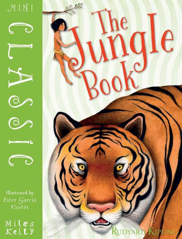 Jungle Book Cover Ester Garcia