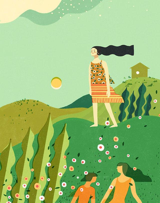 weekend mag-summertime big girl independence