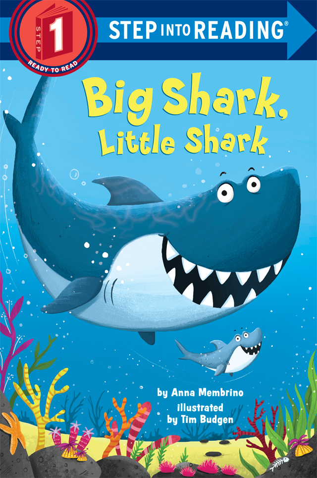 Big Shark, Little Shark cover by Tim Budgen