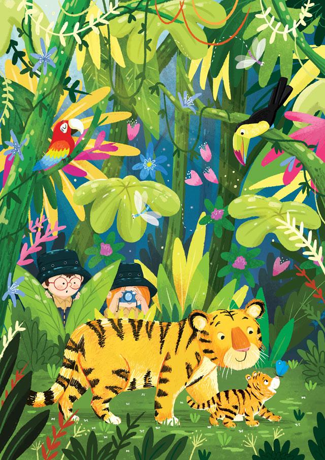 tiger-jungle