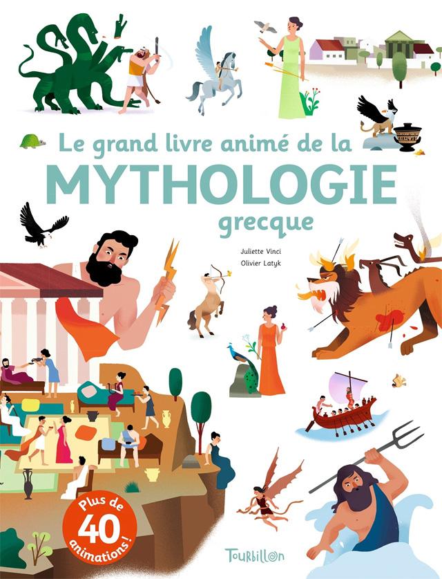 Le Grand Livre Anime De La Mythologie Grecque Bloginfo